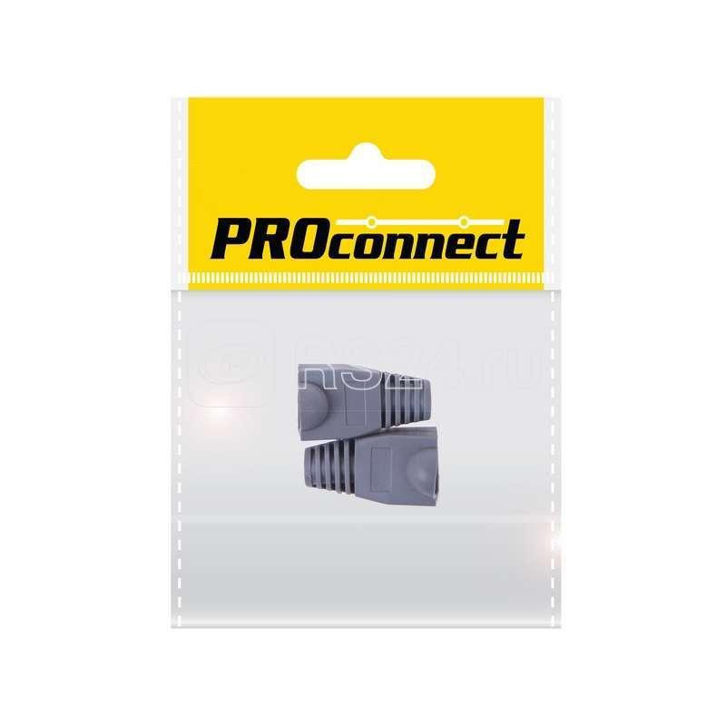 Колпачок для 8P8C серый (уп.2шт) PROCONNECT 05-1208-8 купить в интернет-магазине RS24