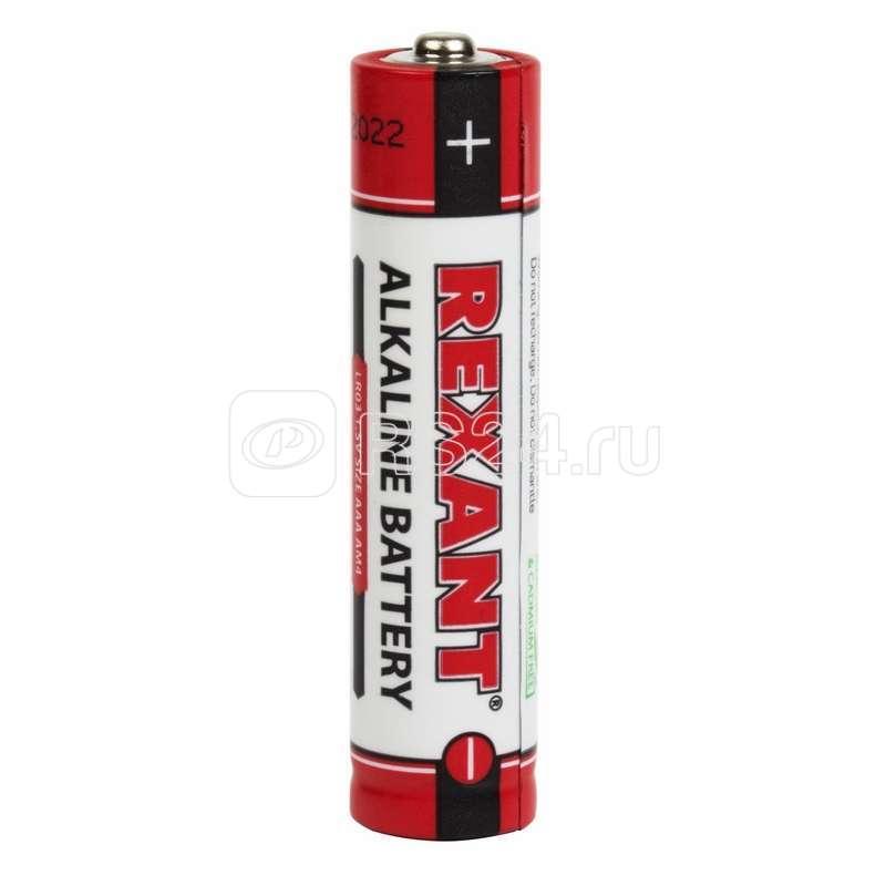 Элемент питания алкалиновый AAA/LR03 1.5В 1200мА.ч (блист.2шт) Rexant 30-1052 купить в интернет-магазине RS24