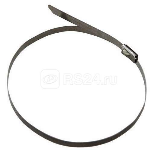 Хомут кабельный 4.6х300 сталь серебр. (уп.50шт) Rexant 07-0308 купить в интернет-магазине RS24