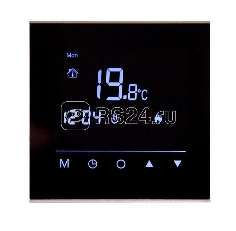 Терморегулятор сенсорный программируемый R300B черн. Rexant 51-0575 купить в интернет-магазине RS24