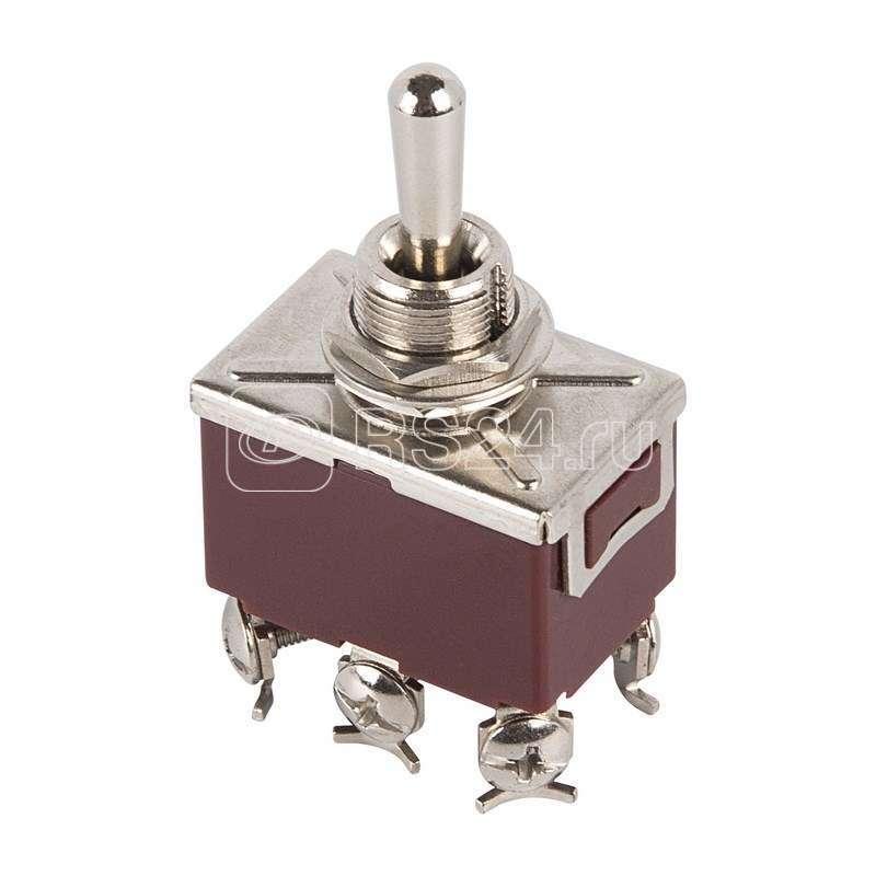 Тумблер 250В 10А (6с) (ON)-OFF-(ON) 2п (KN-223) Rexant 36-4172 купить в интернет-магазине RS24