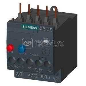 Реле перегрузки 1.8-2.5А кл. 10 S00 Siemens 3RU21161CB0 купить в интернет-магазине RS24