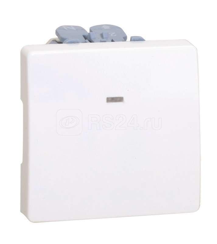 Механизм выключателя с подсветкой СП 10А 2мод 250В сл. кость Simon27 27104-62 купить в интернет-магазине RS24