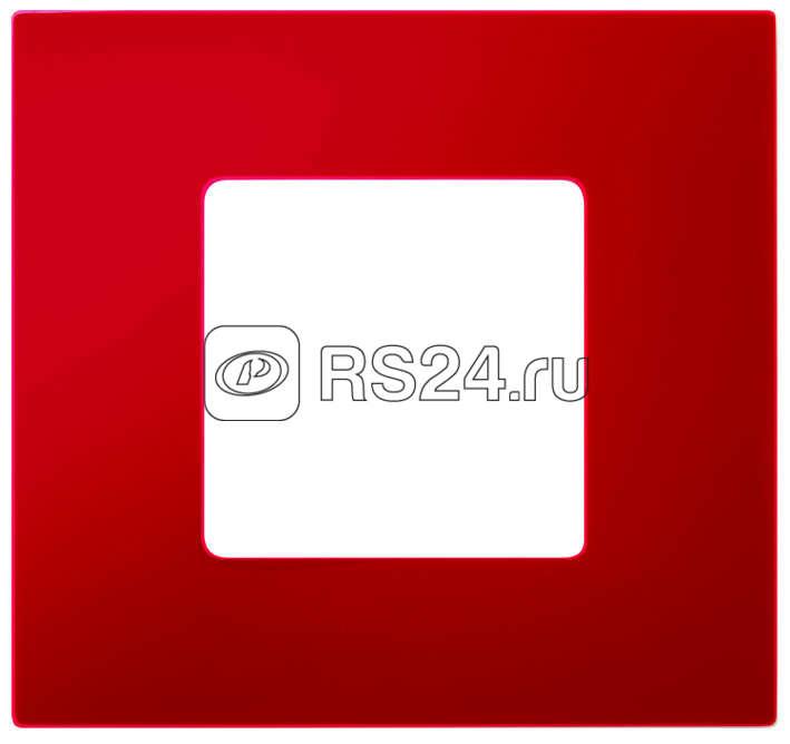 Рамка 4-м Simon27 Play для Simon 2700640-03 красн. Simon 2700647-037 купить в интернет-магазине RS24