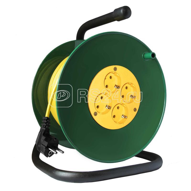 Удлинитель на катушке 4х30м с заземл. 16А IP20 3.5кВт Союз 481S-3503 купить в интернет-магазине RS24
