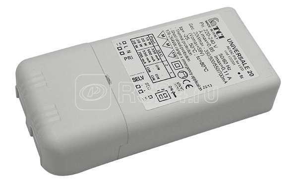 Драйвер LED 20Вт 350/500/550/700мА (TCI UNIVERSALE 20 122201) СТ 6002001180