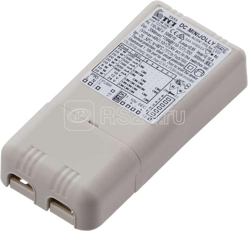 Драйвер LED 20Вт 350/500/550/700/850/900мА (TCI DC MINI JOLLY 1-10В 122400) СТ 4002000040