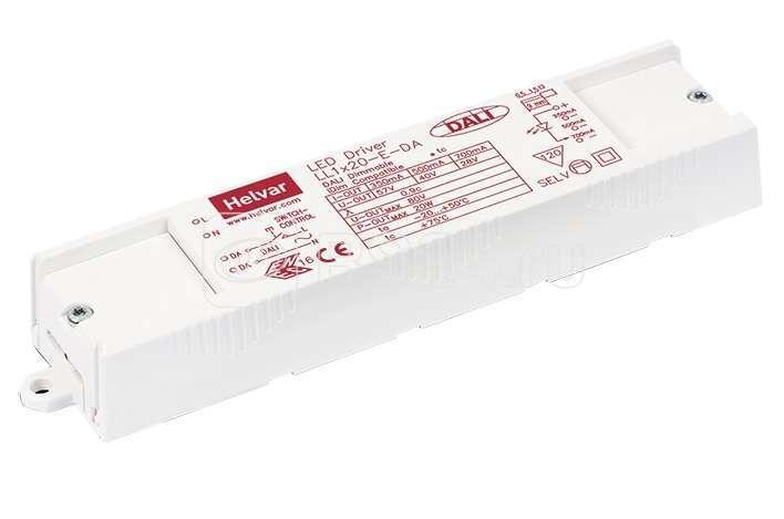 Драйвер LED 350/500/700мА /Helvar LL1х20-E-DA СТ 4002000010