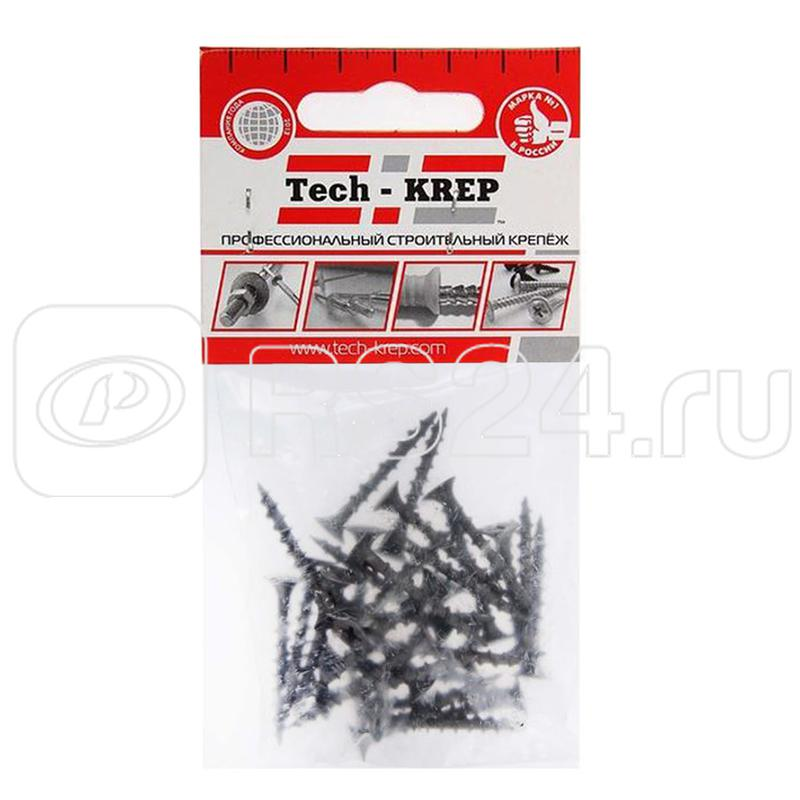 Саморез 3.8х32 гипсокартон-дерево (уп.30шт) пакет Tech-Krep 102371