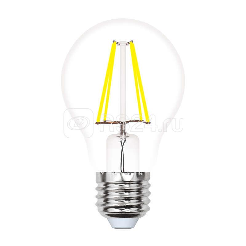 Лампа светодиодная LED-A60-7W/WW/E27/CL/MB грушевидная GLM10TR форма А прозр. Multibright свет теплый бел. 3000К 100-50-10 упак. картон Uniel UL-00002366 купить в интернет-магазине RS24