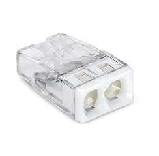 Клемма 2х(0.5-2.5мм) 2-х проводн. для распред. короб. (с контактн. пастой