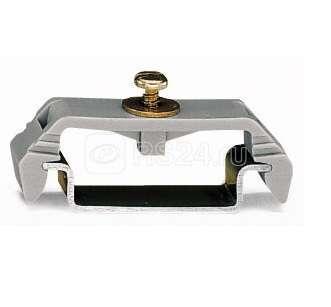 Блок фиксирующий для изолированного монтажа на DIN-рельс 35мм WAGO 209-106 купить в интернет-магазине RS24