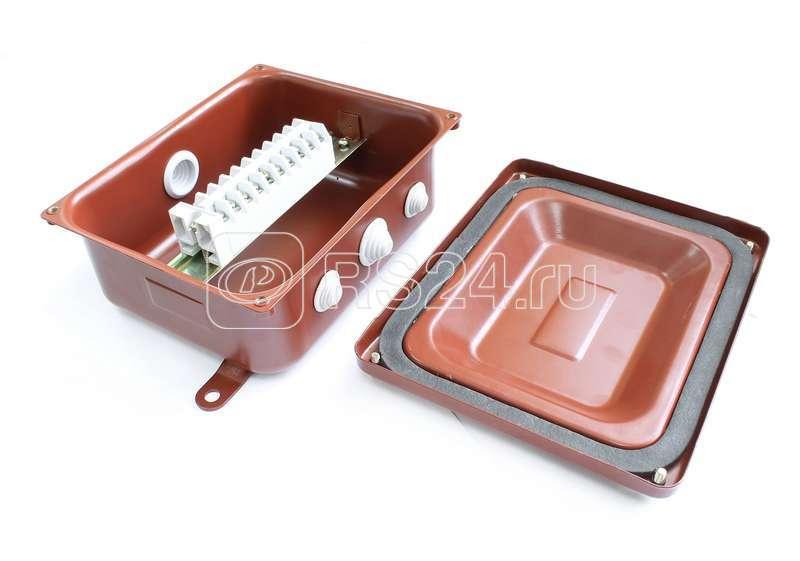 Коробка КМ 43-10 У3 IP43 ступенчатый ПВХ-ввод ЗЭТА zeta30338 купить в интернет-магазине RS24